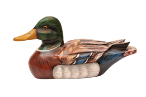 Wood Carving- Colorful Ducks
