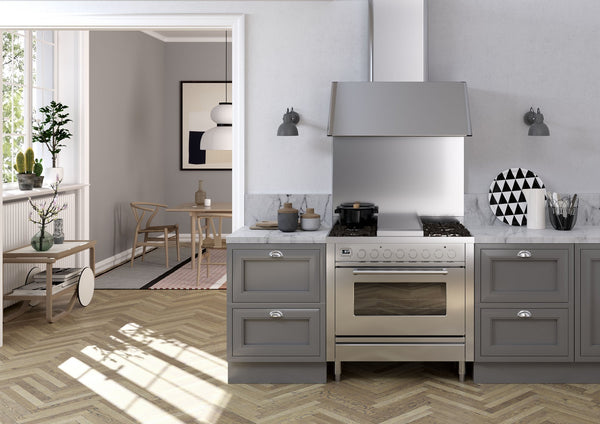 Introducing ILVE's Roma Range Cooker