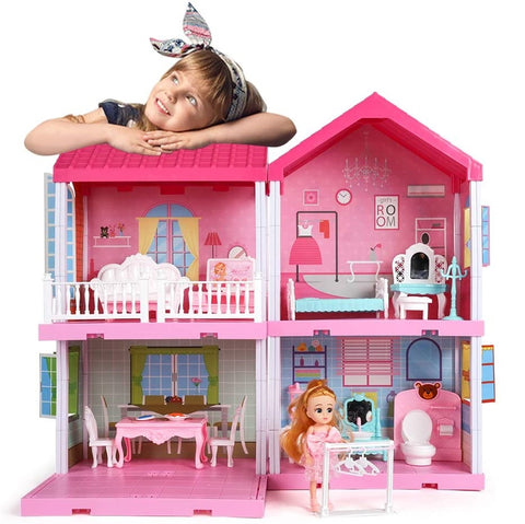 open-sided doll house