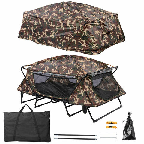 two person cot camping