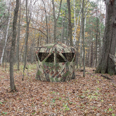 pop up hunting blind
