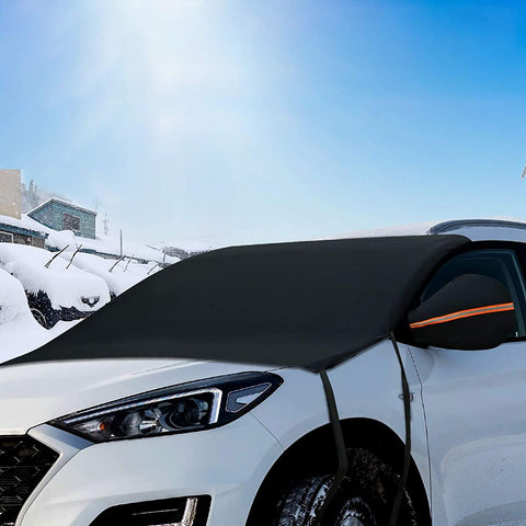 car snow cover