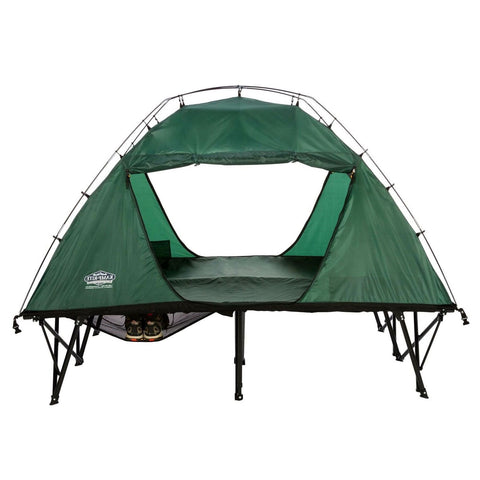 off the ground tent