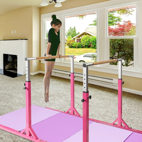 gymnastic bars