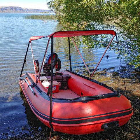inflatable boat with air deck floor