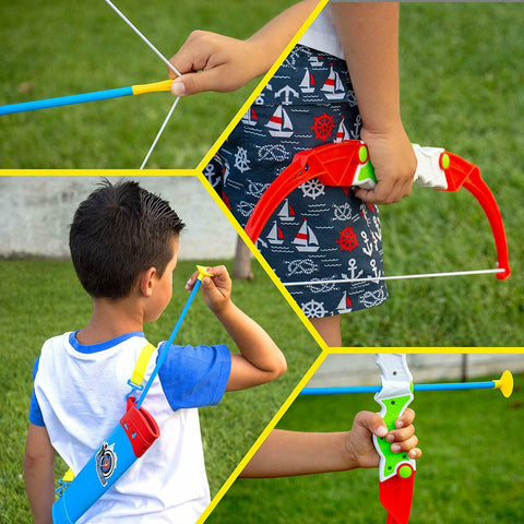 toy bow and arrow