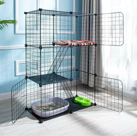 outside cat cage