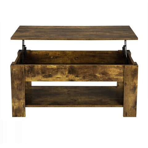 wood lift top coffee table