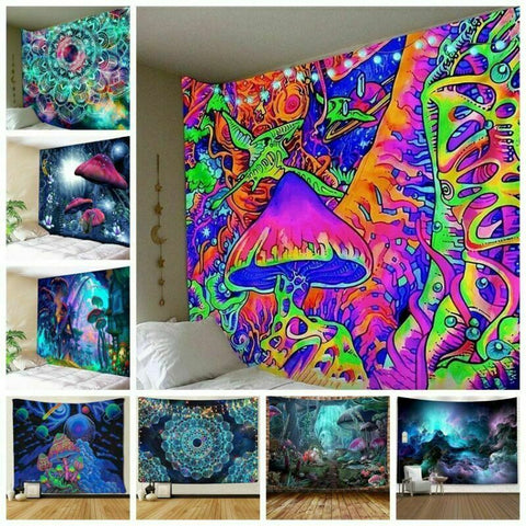 trippy wall decor