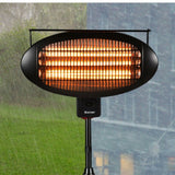 Portable Electric Patio Heater Outdoor Table Top Heat Lamp Infrared 1500W - Morealis
