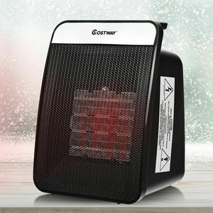 Premium Electric Space Heater Portable Outdoor Garage Heater for Bedroom 1500W - Morealis