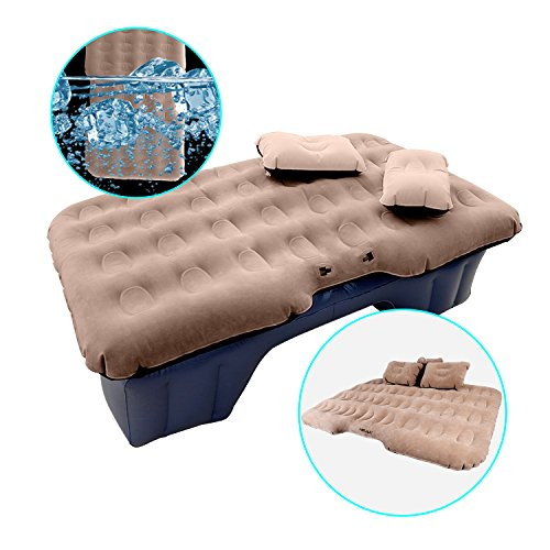 Premium Car Air Mattress for Back Seat SUV Portable Bed for Truck, Camping - Morealis