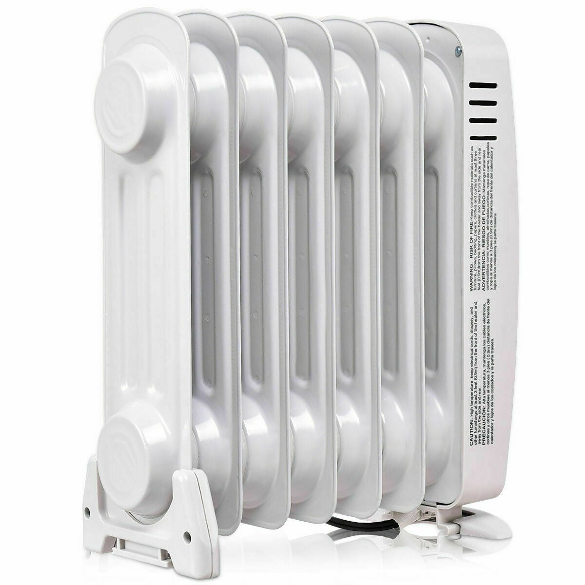 Portable Mini Oil Filled Radiator Electric Oil Thermostat Heater - Morealis