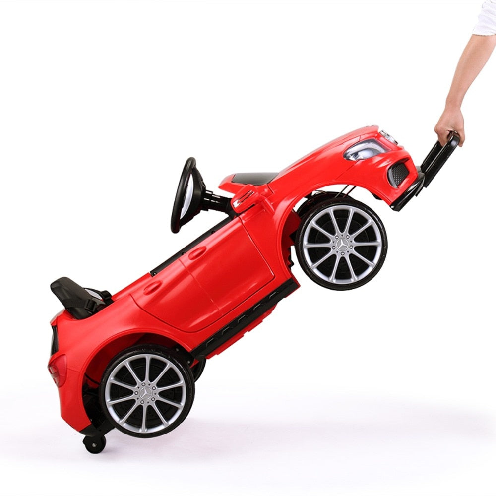 Red Mercedes Benz Kids Electric Car Children Toy Cars Motorized Power Wheel - Morealis