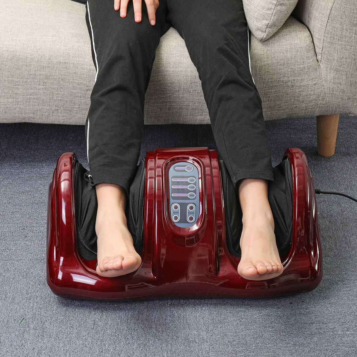 Shiatsu Foot Leg Massager Deep Kneading Electric Spa Massager Machine - Morealis