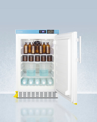 """Accucold 20"""" Wide Built-In Pharmacy All-Refrigerator ADA Compliant"""