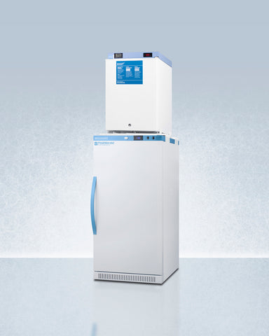 """Accucold 24"""" Wide All-Refrigerator/All-Freezer Combination"""