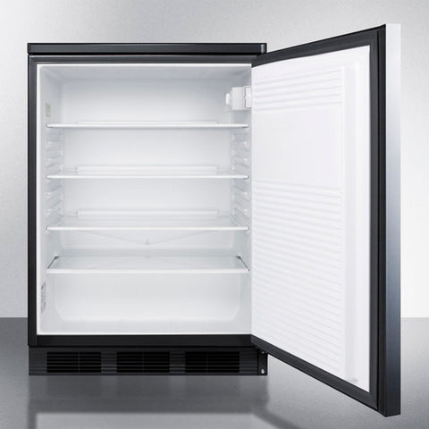 """Accucold 24"""" Wide All-Refrigerator Auto Defrost with Stainless Steel Door"""