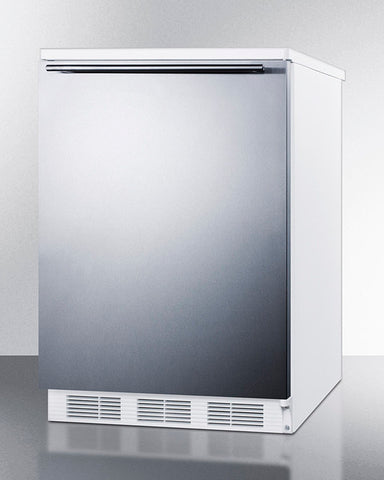 """Accucold 24"""" Wide All-Refrigerator with Horizontal Handle"""