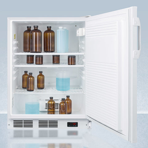 """Accucold 24"""" Wide All-Refrigerator with Probe Hole ADA Compliant"""