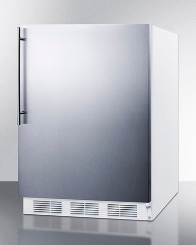 """Accucold 24"""" Wide All-Refrigerator with Thin Handle"""