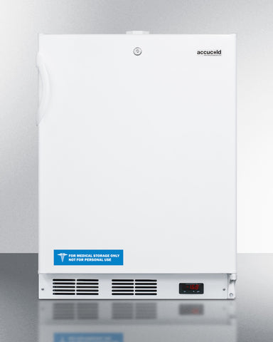 """Accucold 24"""" Wide Built-In All-Freezer ADA Compliant"""