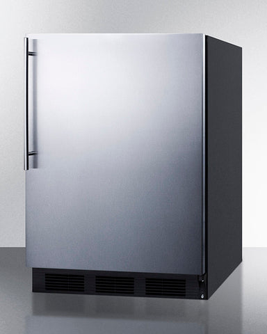 """Accucold 24"""" Wide Built-In All-Refrigerator ADA Compliant with Thin Handle"""