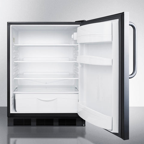 """Accucold 24"""" Wide Built-In All-Refrigerator Auto Defrost"""