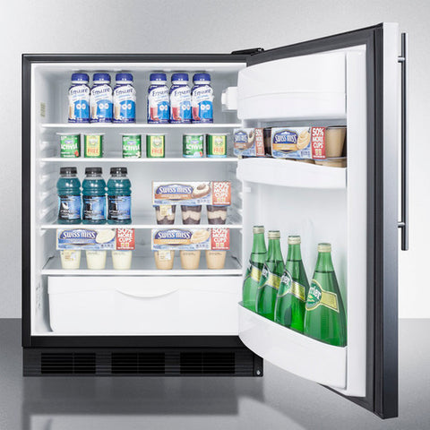 """Accucold 24"""" Wide Built-In All-Refrigerator"""