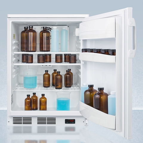 """Accucold 24"""" Wide Built-In All-Refrigerator with Auto Defrost"""