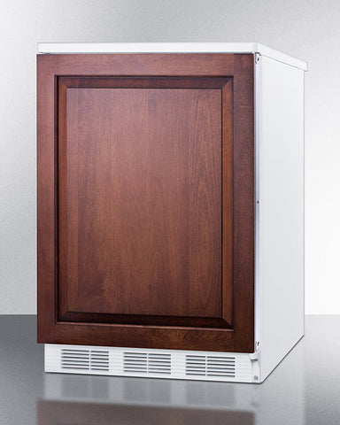 """Accucold 24"""" Wide Built-In All-Refrigerator with Integrated Door Frame"""