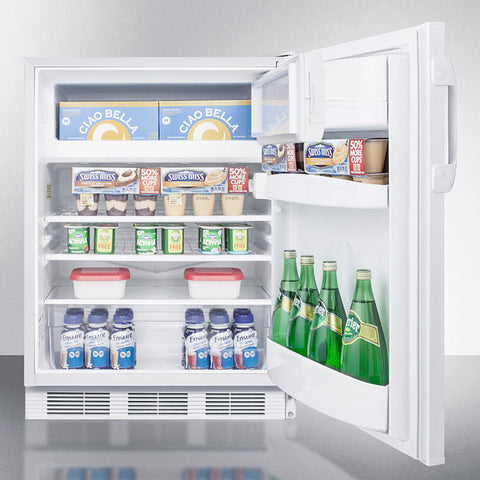 """Accucold 24"""" Wide Built-In Refrigerator-Freezer"""