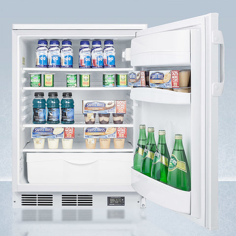 """Accucold 24"""" Wide Nutrition Center Built-In All-Refrigerator"""