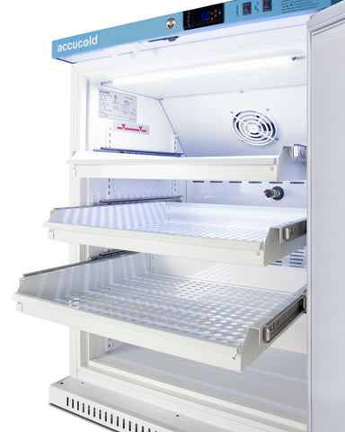 Accucold 6 Cu.Ft. ADA Height Vaccine Refrigerator with Removable Drawers