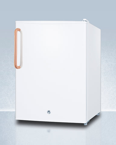 Accucold Compact All-Refrigerator with Antimicrobial Pure Copper Handle