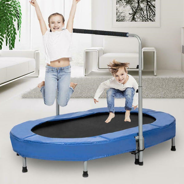 Adjustable Mini Exercise Trampoline Foldable Indoor Adult Jump