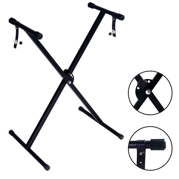 Adjustable X Style Digital Electric Piano Keyboard Stand