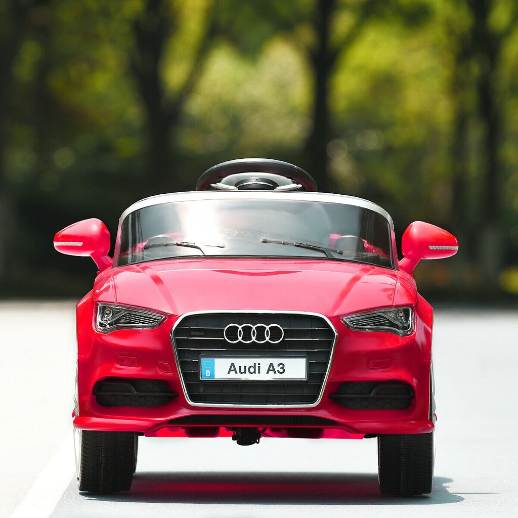 Red Audi Children Electric Car Motorized Kids Power Electric Ride On Cars 12V - Morealis