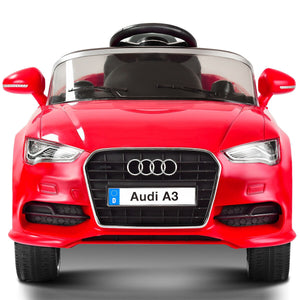 Audi A3 Kids Electric Car Motorized Power Wheel Ride On Car Toy with Music - Morealis
