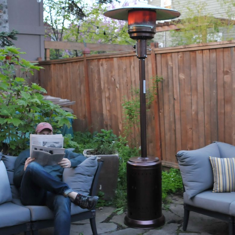 Premium Outdoor Propane Patio Heater Gas Fire Pit Space Heater