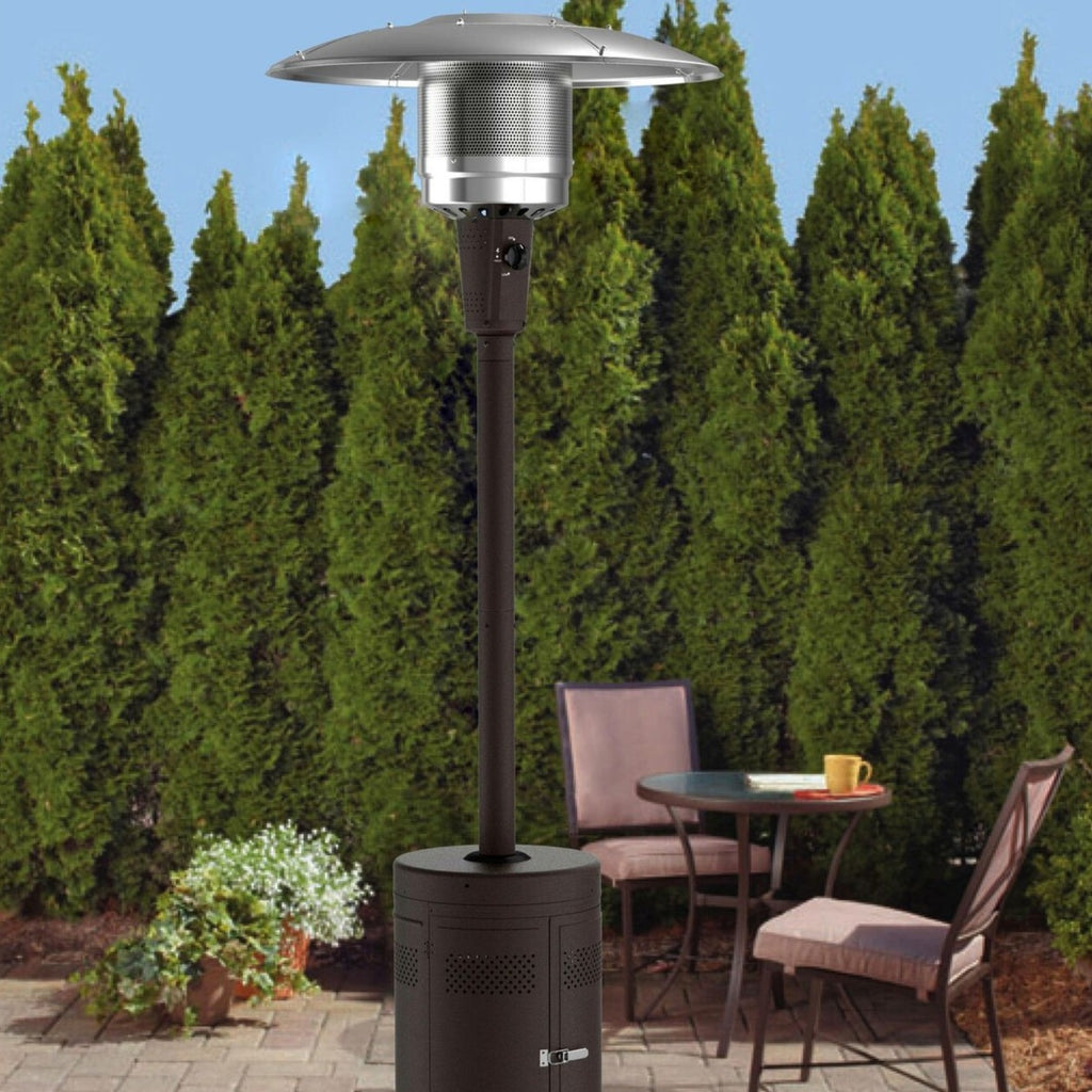 Backyard Outdoor Propane Patio Heater Gas Fire Pit Large Heater - Morealis