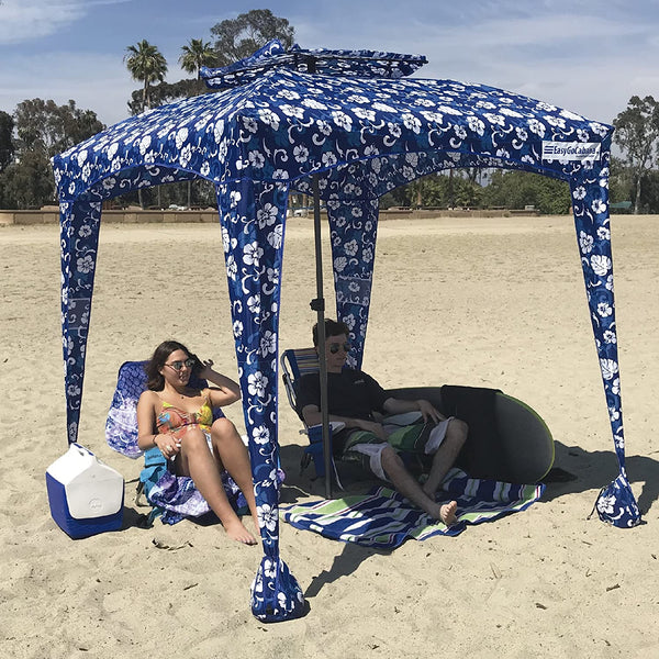 Blueberry Beach Cabana Tent Pop Up Cool Sun Shade Umbrella For Beach - Morealis