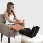 Premium Foot and Leg Massager Compression Calf Massager with Handheld Controller - Morealis