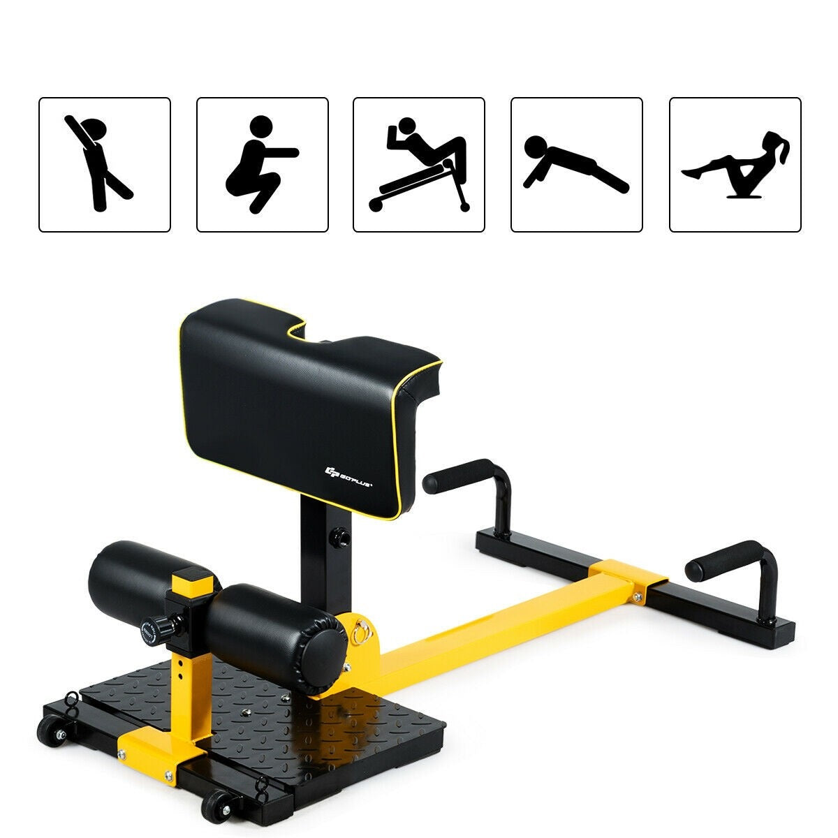 Elastic Multifunctional Home Gym Squat Fitness Equipment 8-in-1 - Morealis