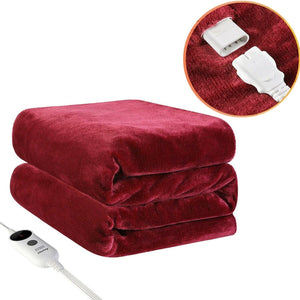 Snuggle Electric Heated Blanket Warming Portable Lap Blanket - Morealis