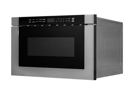 Forte 24 Inch Stainless Steel Drawer 1.2 cu. ft. Capacity Microwave Oven