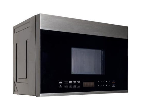 Forte 24 Inch Stainless Steel Over the Range 1.3 cu. ft. Capacity Microwave Oven
