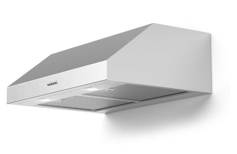 Forte Lucca 24 Inch Convertible Under Cabinet Range Hood in Stainless Steel