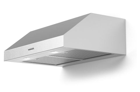 Forte Lucca 60 Inch Convertible Under Cabinet Range Hood in Stainless Steel
