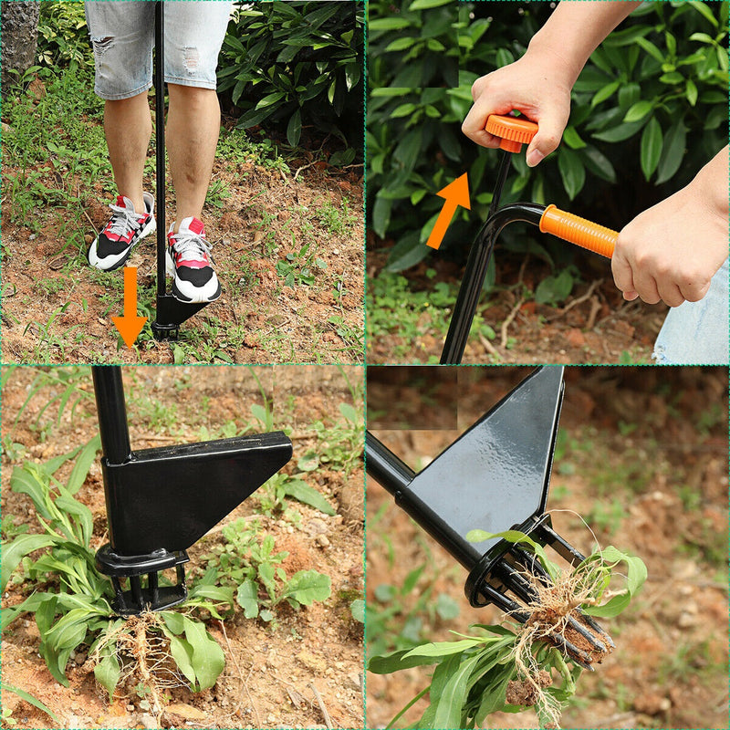 Garden Lawn Weed Puller Twist Pull Weeding Remover - Morealis